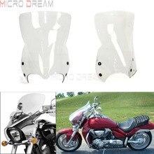 Polycarbonate Motorcycles Clear Windshield Windscreen w/4x Bracket For Suzuki Boulevard M109R Boss M109RZ Limited M90 M50  06-16