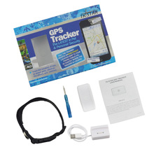 Mini Pet Dog Cat Animal Wifi GPS Tracker locator tkstar tk911 the upgrade tk909 GPS/WIFI/LBS spport Google Map Free tracking