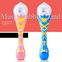 Волшебная электрическая пузырчатая палочка, игрушка, креативный светильник, музыкальная игра, автоматический пузырьковый чайник, палочки, прочная музыкальная палочка, волшебная палочка