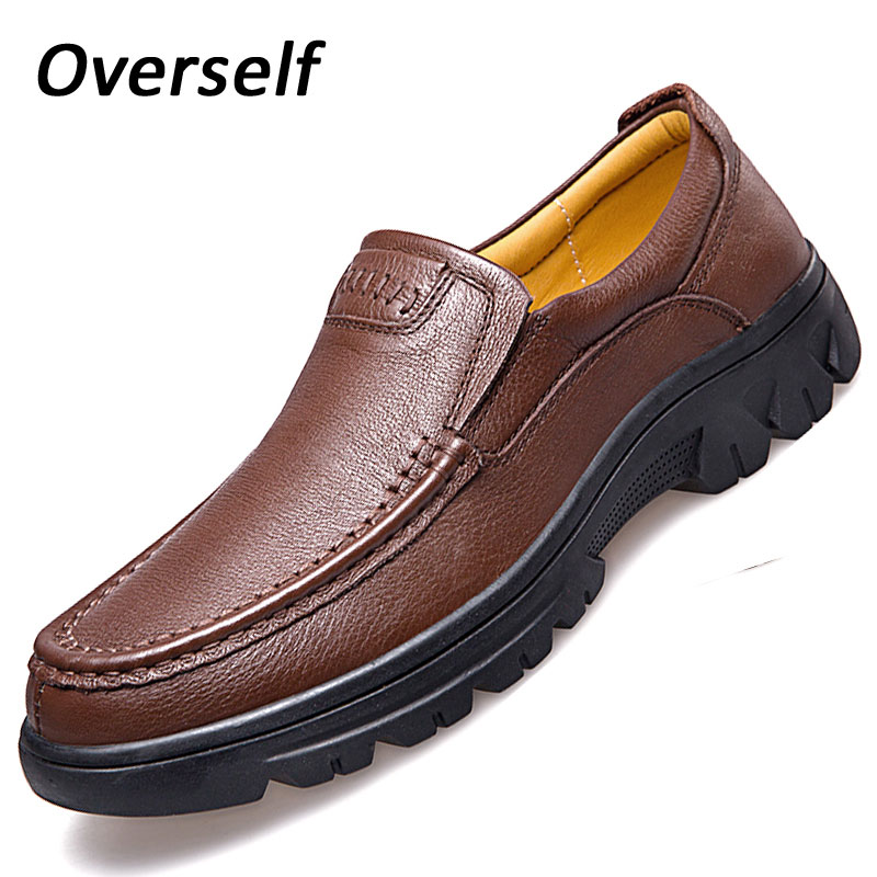 Mens dress Cow leather shoes luxury brand for man slip on genuine leather formal loafers moccasins men big size 37-47 male shoe clax men shoes luxury brand loafers genuine leather male driving shoes slip on black dress shoe moccasin designer classical