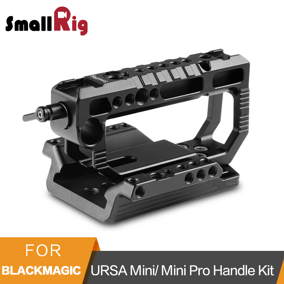 SmallRig Top Handle Kit for Blackmagic URSA Mini/ Mini Pro Handle With Top Plate- 2029SmallRig Top Handle Kit for Blackmagic URSA Mini/ Mini Pro Handle With Top Plate- 2029