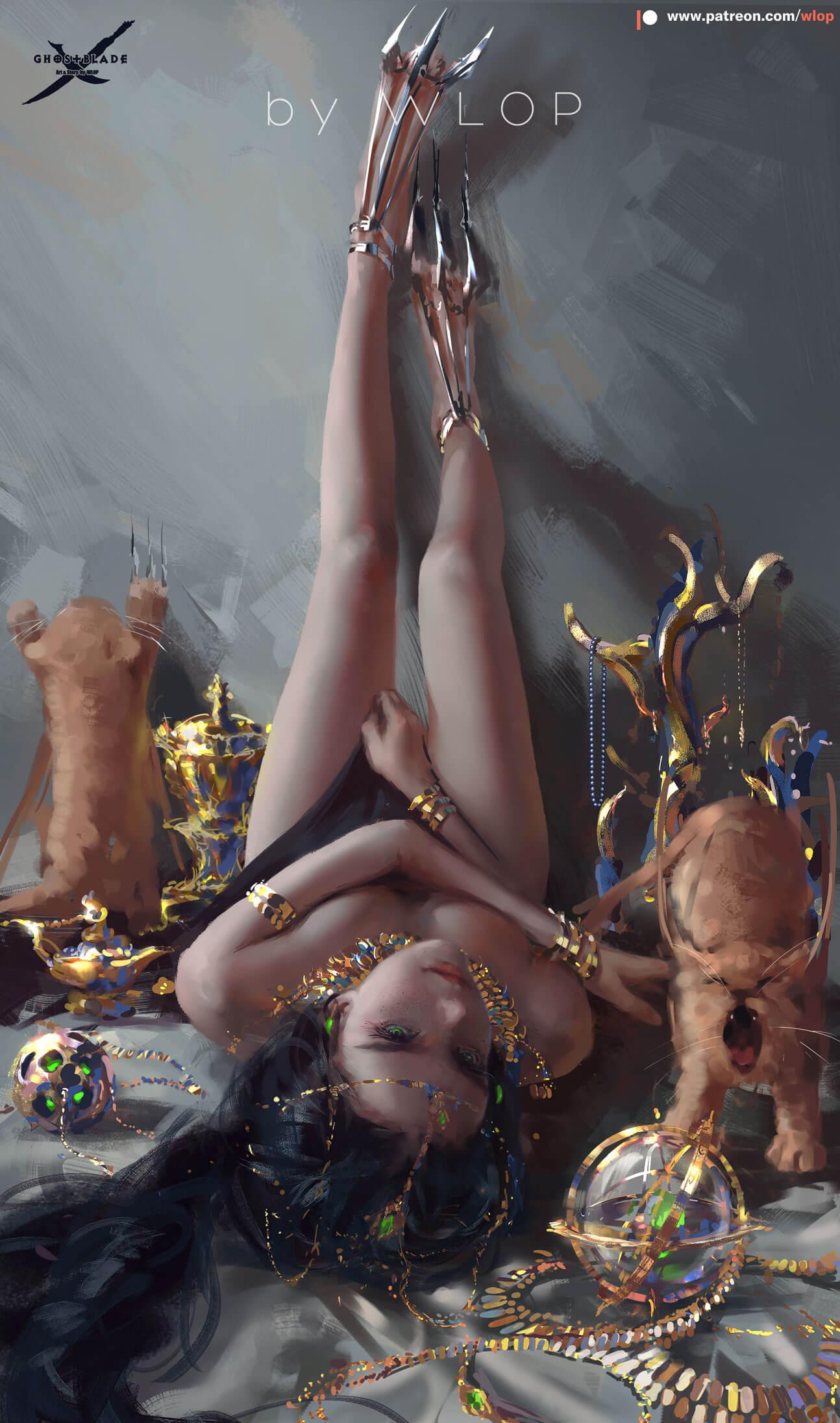重口味警告穿环的终结篇:丝带环的行为艺术