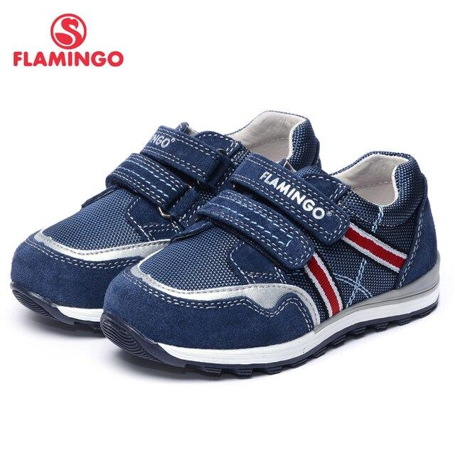 Flamingo 2017 новое прибытие весенние и осенние кроссовки для мальчика высокого качества способа детская обувь 71p-xy-0108
