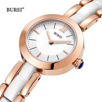 Relogio Feminino BUREI Luxury Brand Fashion Women Watches Waterproof Ceramic Ladies Gold Quartz Wrist Watch Clock Woman Saat New - DISCOUNT ITEM  50% OFF All Category