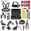 26in1 Head Chest Mount Floating Monopod Accessories Kit For GoPro 2 3 4 Camera