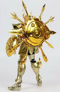 Image 3 - En stock Chuanshen modèle balance Dohko sog âme de dieu or EX figurine en métal armure
