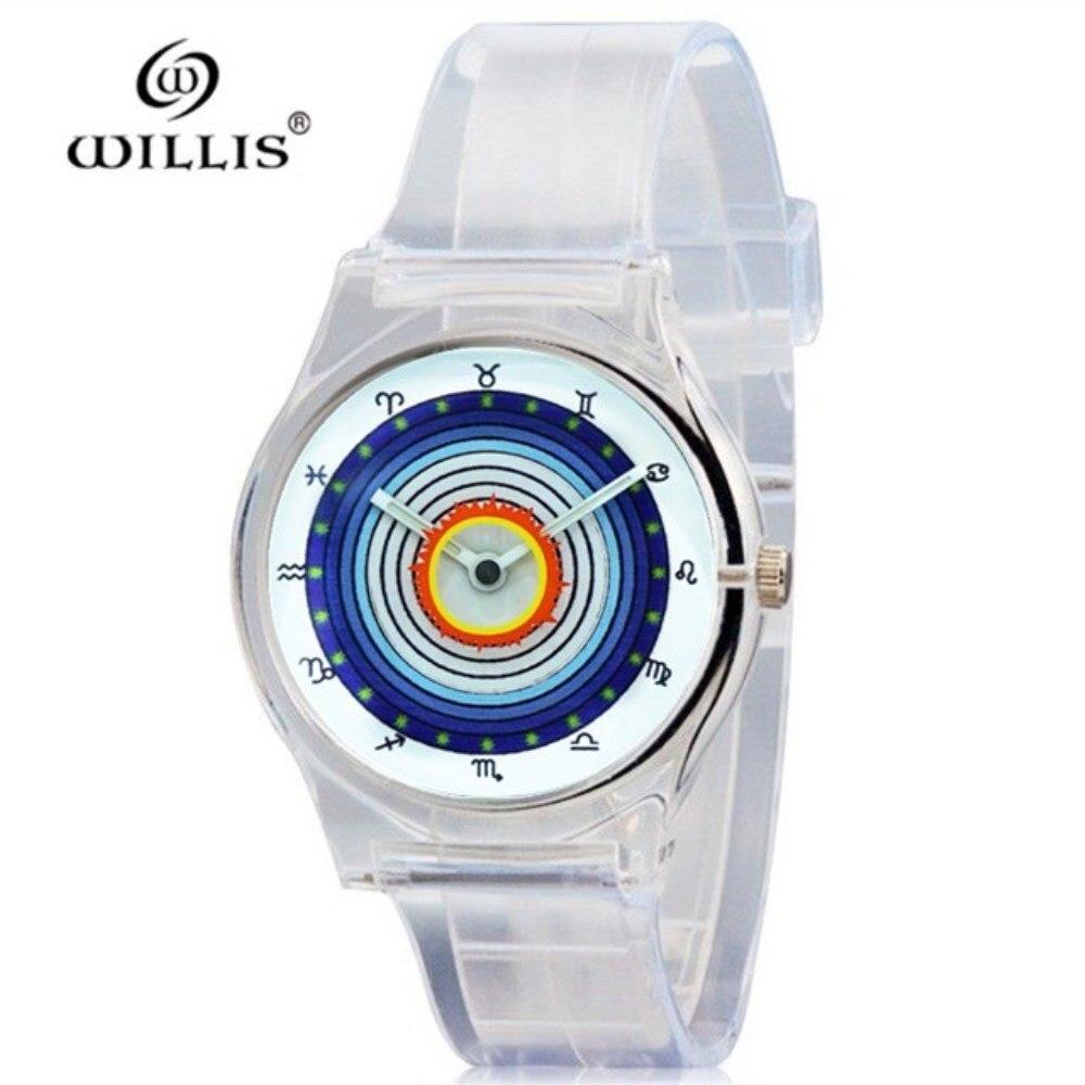 Watches Willis Brand Jelly Candy Watch Clock Woman Waterproof 50m Outdoor Sports Watch Women Simple Small Bracelet Hand Wrist Hour Gift