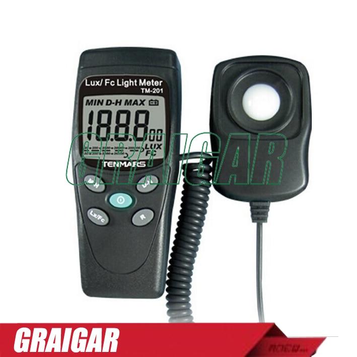 TENMARS TM-201 LUX/FC Light Meter цена и фото