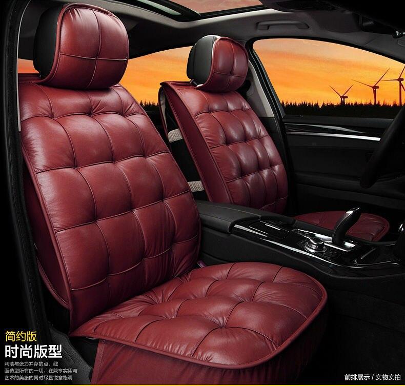 Car Seat Cover Pu Cushion Set For Alfa Romeo Boxster