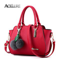 ACELURE Women Pu Leather Top-Handle Bags Female Direct Selling Shoulder Bags Red Crossbody Bags For Ladies Sac A Main ACE8402