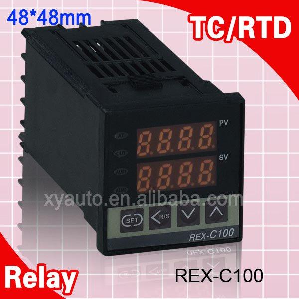 все цены на  Mutil-Input Economical RKC Temperature Controller Universal Input Relay Output REX C100  онлайн