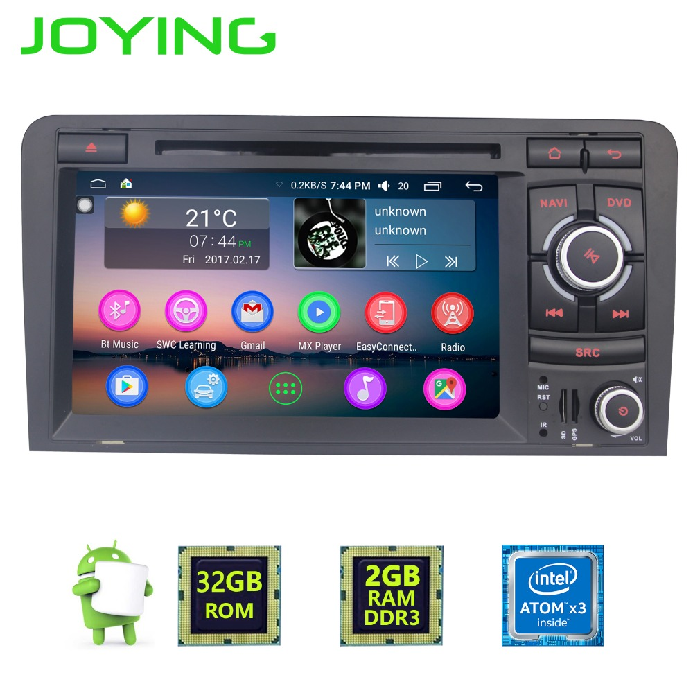 7 joying double din 2gb 32gb android 6 0 car radio stereo. Black Bedroom Furniture Sets. Home Design Ideas