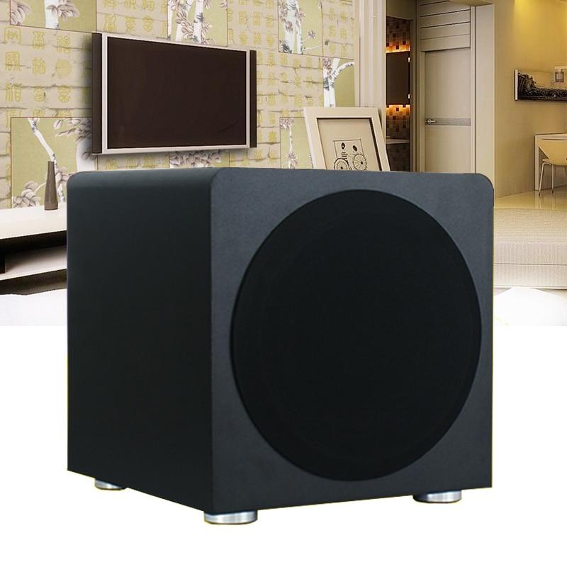 120W Active Subwoofer Speaker Sound Box Home Theater Active Bookshelf Speaker Heavy Bass Wooden Speakers For Mobile Phone TV