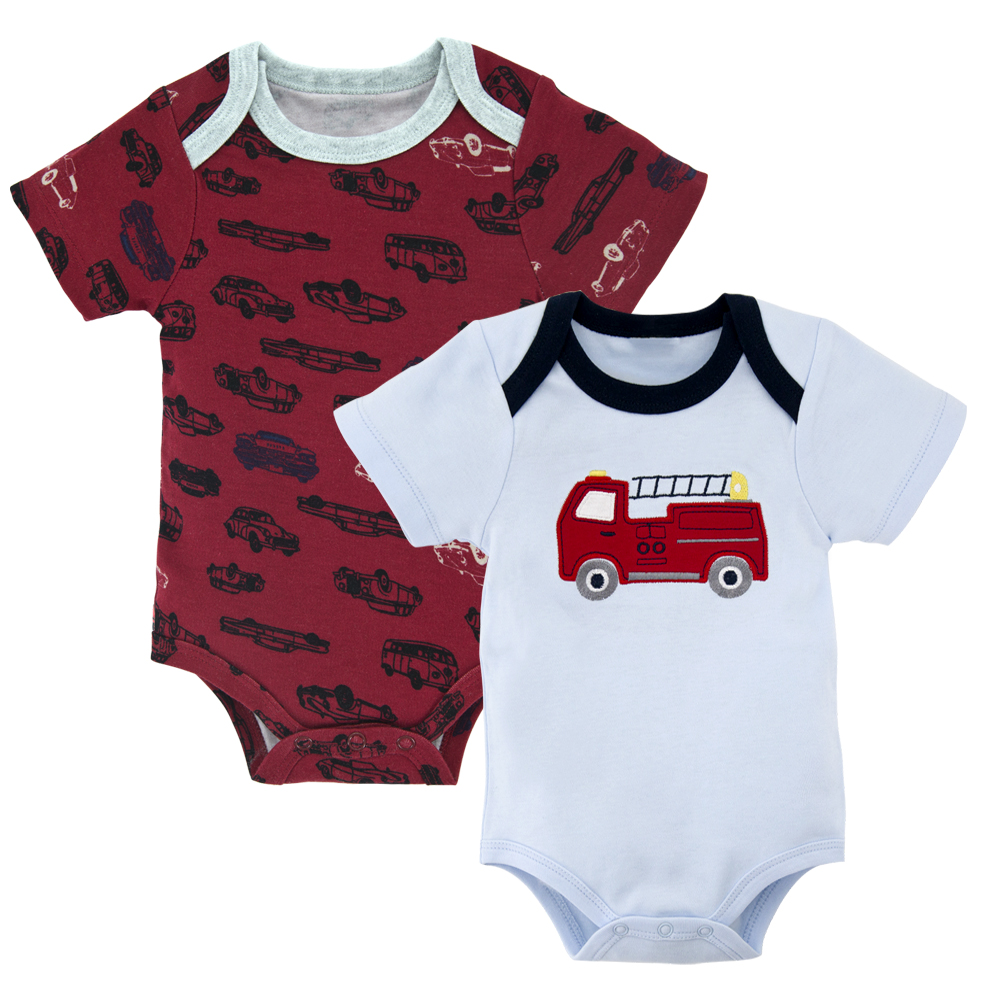 2020 Fashion Baby Bodysuit Infant Jumpsuit Overall Short Sleeve Bamboo Body Suit Baby Clothing Set Summer Cotton