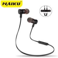 Bluetooth Headphones NAIKU Wireless In Ear Noise Reduction Earphone With Microphone Sweatproof Stereo Bluetooth Headset