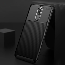 Ikrsses Case For Huawei Mate 10 lite Case Luxury Carbon Fiber Ultra Thin Silicone Soft TPU Case for Huawei Nova 2i Cover cover case for huawei mate 10 pro soft carbon fiber luxury tpu