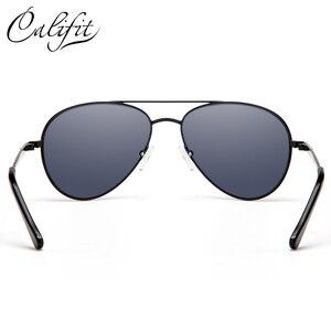 Image 3 - CALIFIT Pilot Classic Men Optical Prescription Glasses Myopia Vintage Oversized Degree Progressive Photochromic Glasses Male