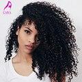 7A peruano Virgem Cabelo Kinky Curly Weave Do Cabelo Humano da Extensão Do Cabelo Encaracolado Onda Profunda Peruano Feixes Rainha Rosa Produtos para o Cabelo