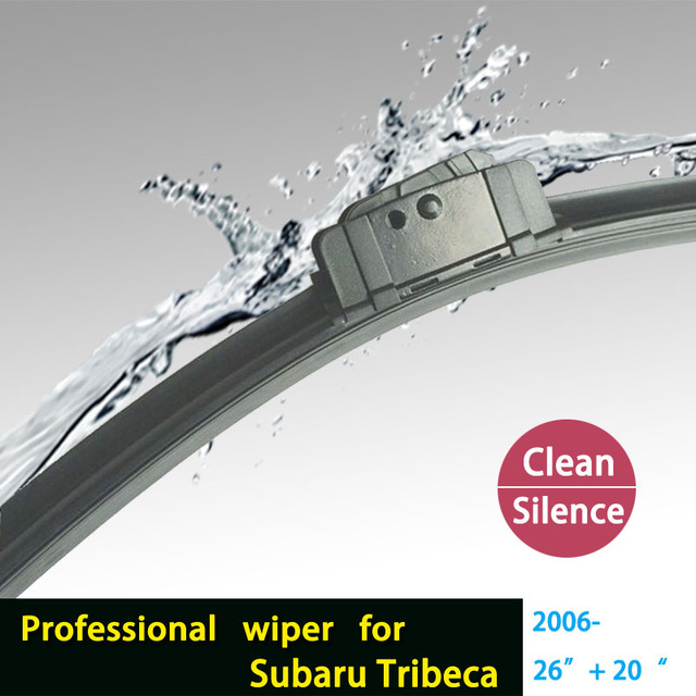 """Limpiaparabrisas cuchillas para Subaru Tribeca (2006 en adelante) 26 """"+ 20"""" fit grande J brazos del limpiaparabrisas hook onlyHY-027"""