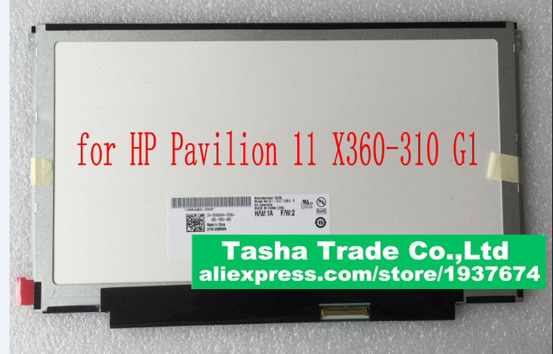 For HP Pavilion 11 X360-310 G1 Laptop Screen 11.6 LED LCD HD Display Antiglare Matte