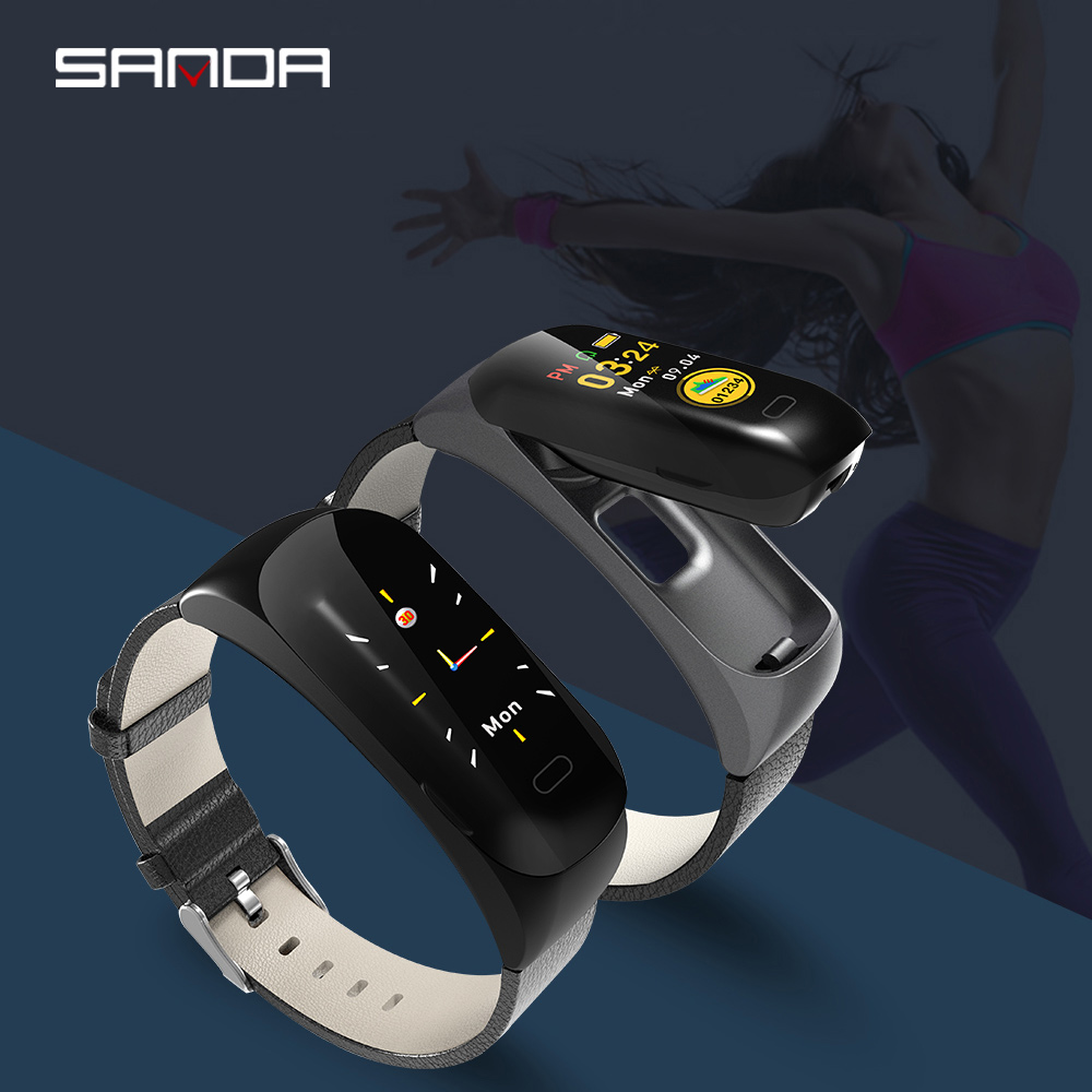 Smart Watch 2019 New SANDA Color Bracelet  Mens and Womens Fitness Tracker Bracelet Heart Rate Blood Pressure PedometerSmart Watch 2019 New SANDA Color Bracelet  Mens and Womens Fitness Tracker Bracelet Heart Rate Blood Pressure Pedometer