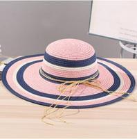 2017 New Fashion Women Summer Big Brim Sun Hat Straw Hat For We Love Fran Customer