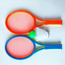 1pc 2 in 1 Badminton Tennis Racket Suit Parent-child Sport Educational Toys Bat Baby Outdoor Toy Sports(China)