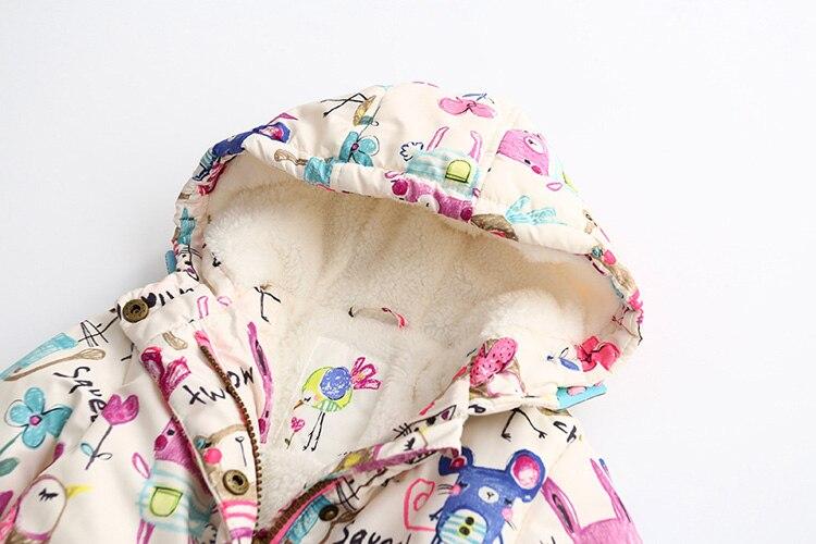 Novo outono inverno crianças jaquetas para meninas