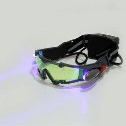 1pcs glasses eyeshield green lens adjustable elastic band night vision goggles yks free shipping.jpg 250x250