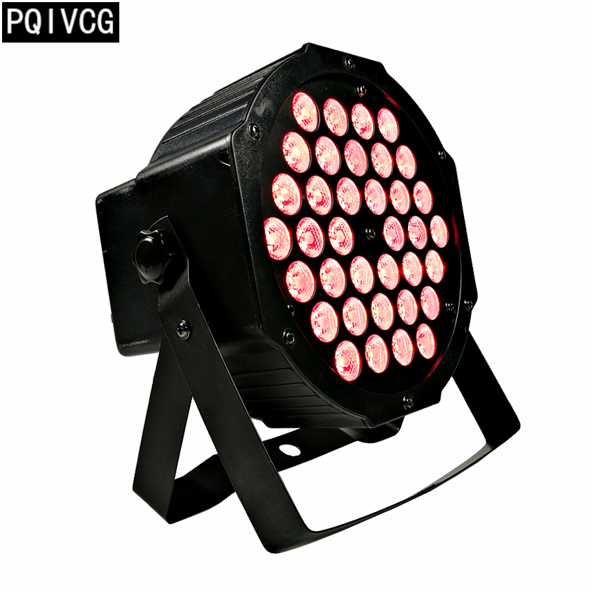 36x3w rgb 3in1 led par lights dmx512 flat par light professional stage dj equipment led lights
