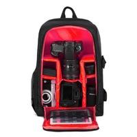 GTF Camera Backpack Digital Durable Multi functional DSLR Bag Water resistant Breathable for Nikon Canon Sony Cameras Case Bag