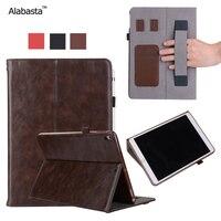 Alabasta For IPad Pro 10 5 Funda Case Upscale Leather Surface Silicone Protector Card Pocket Bag
