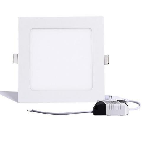 recesso levou luz de teto 3 whitecold 18 w quente rodada branco ac85 265v quadrado
