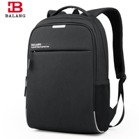 2017 New BALANG Brand Korean Style Men Business 15 6 Laptop Notebook Practical Backpack Casual Fashion