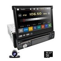 Hizpo один Din Съемная Панель автомобиля Steoro зеркало Link Сенсорный экран DAB + Радио HD Bluetooth навигации бесплатная заднего вида камера 1080