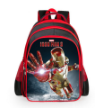 2017 Hot Cartoon Superhero Iron Man Backpacks For Kids Children School Bags Primary Backpack Boys Mochila