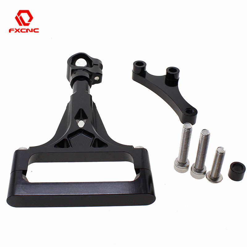 CNC Stabilizer Motorcycles Steering Damper Mounting Brackets Support For Kawasaki <font><b>Z1000</b></font> Z750 2003 - 2009 2008 <font><b>2007</b></font> 2006 2005 image