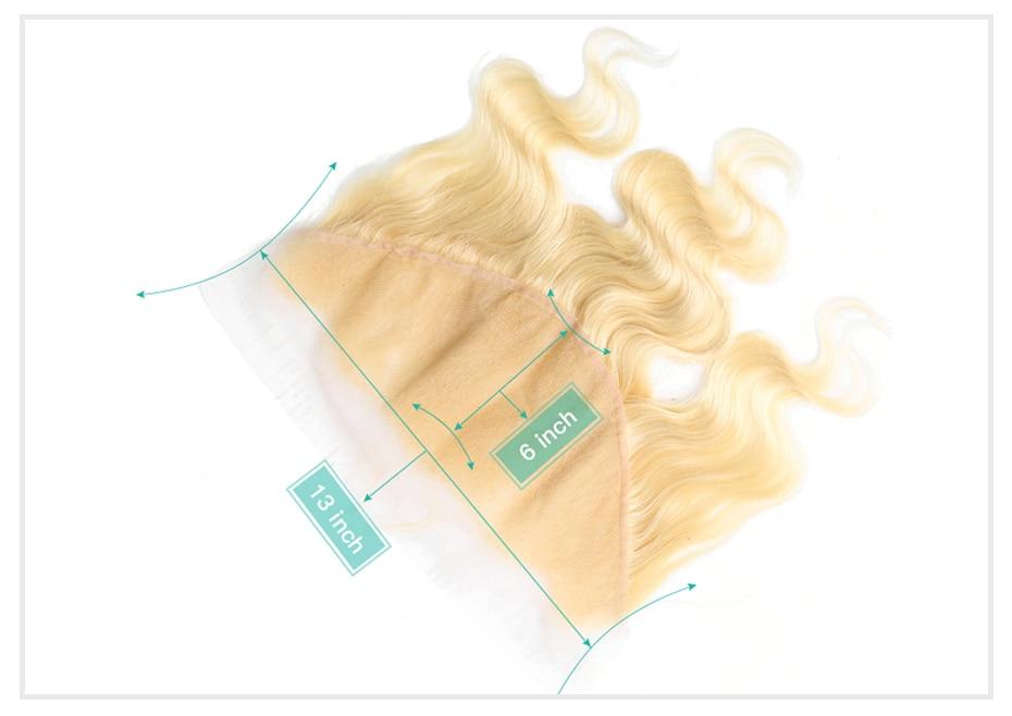 HTB1ha5naPzuK1RjSspeq6ziHVXa8 Monstar Brazilian Hair Weave Bundle Deals 613 Honey Blonde Body Wave Remy Human Hair Bundles with Closure 13x6 Lace Frontal