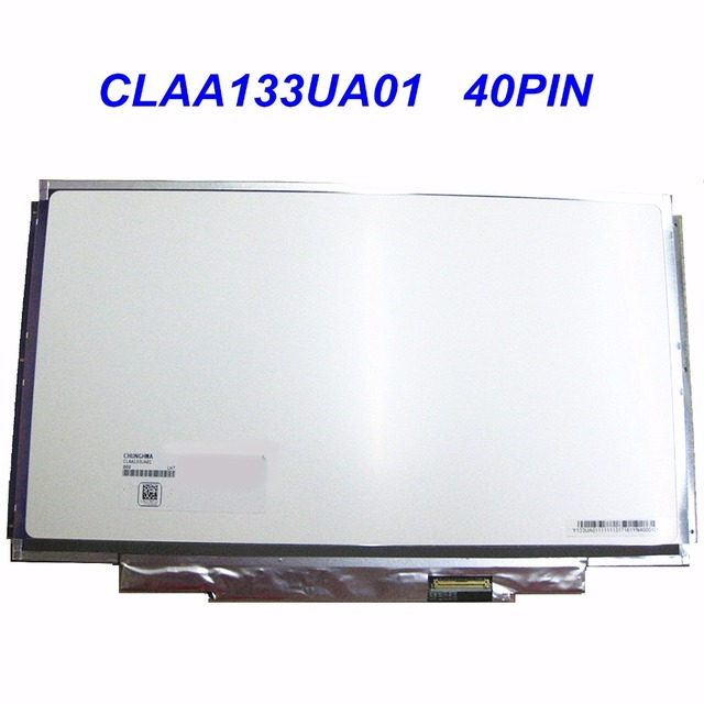 13.3''CLAA133UA01 for SONY VPCSA27GC VPCSA2S0C VPC-SA25 VPC-SA27 SVS13A1U9ES laptop LED LCD screen Panel Display 40 PIN 1600*900