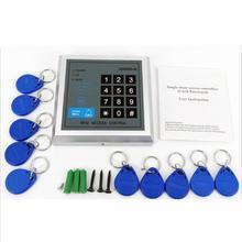 Автономный RFID наборы контроллеров доступа с 10 шт. клавиатурой для системы дверного замка 3 способа доступа