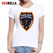 REDBELLA 2017 Women T Shirt Cool New Punk Rock Logo Unique Tumblr Letters Vintage Graphics White T-shirt Printed Casual Clothing