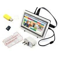 Module Raspberry Pi 7 Inch Rev 2 1 1024 600 HDMI IPS LCD Touch Screen Bicolor