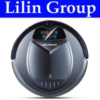 LIECTROUX B3000PLUS Robot Vacuum Cleaner With Water Tank Wet Dry TouchScreen WithTone Schedule Virtual Blocker SelfCharge