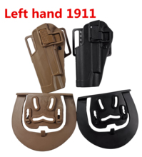 Hunting Gun Holster Left Hand Tactical Airsoft Combat Pistol For Colt 1911 Military Carry Case glock accessories