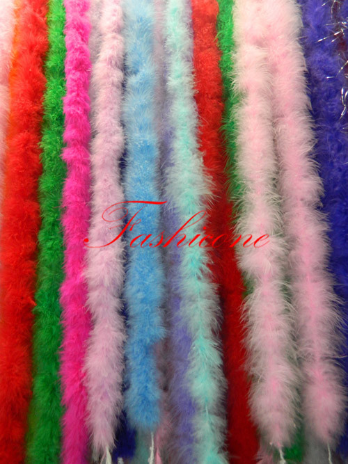 2018 Colorful 2M/ 80 Long Thick Marabou Feather Boa For Wedding Fancy Dress Party Decor Clothes Accessories Christmas New Year
