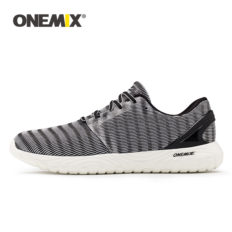 ONEMIX men s jogging shoes summer sneakers soft deodorant insole light cool sneakers women sneakers for