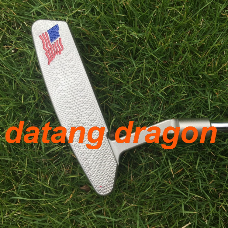 2018 datang dragon golf putter skull USA custom putter 33/34/35inch  with headcover OEM quality golf clubs2018 datang dragon golf putter skull USA custom putter 33/34/35inch  with headcover OEM quality golf clubs