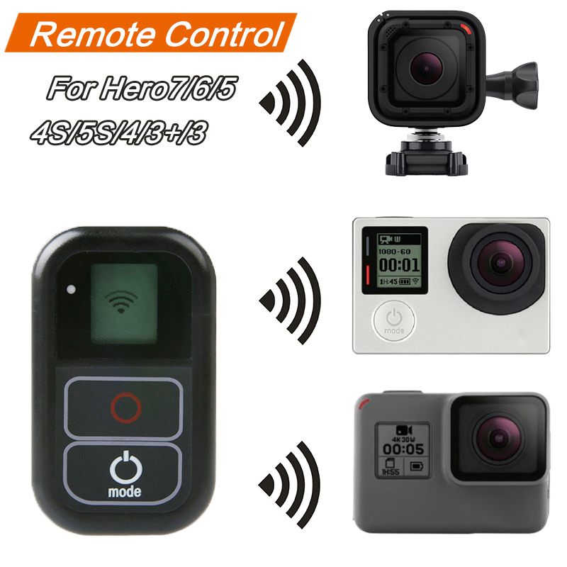 Durable Black CAOMING WiFi Remote Kit for GoPro HERO6// 5//5 Session //4//3+ //3 All for GoPro WiFi Edition