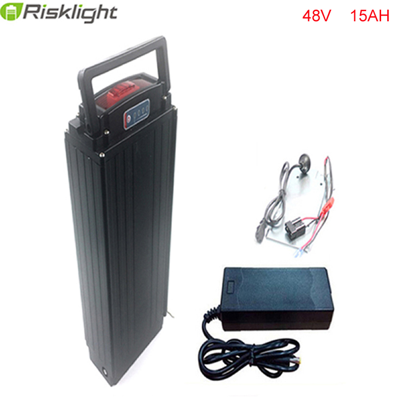 US EU AU No Tax 48V 15Ah Electric Bike Battery 500W 750W bafang Rear Rack Battery with Controller Box eBike Lithium ion Battery us eu no tax ebike akku rear rack 36v 15ah lithium battery 36v 15ah electric bike li ion battery with charger rack