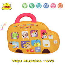 Baby Music Fabric Toys Baby Gift Baby Musical Plush Toys  Kids Car Pram Toy Animal Developmental Doll YQ5813